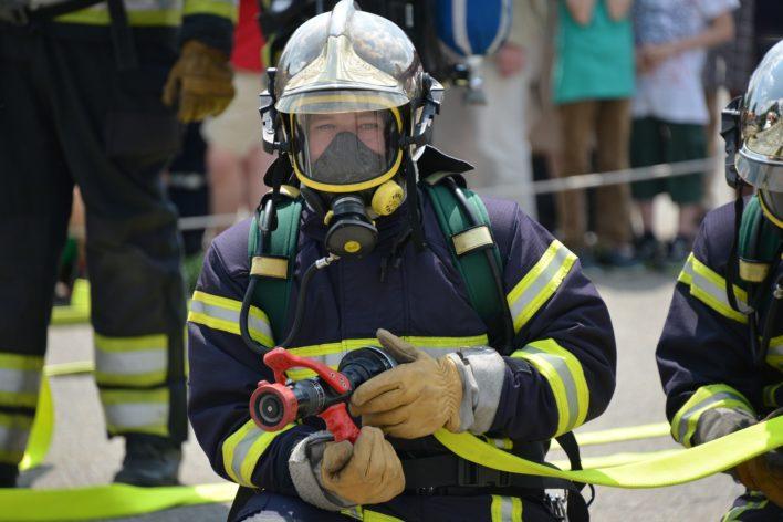 Feuerwehrfrau ist noch immer die Ausnahme.