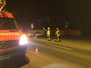 Verkehrsdienst durch die Feuerwehr