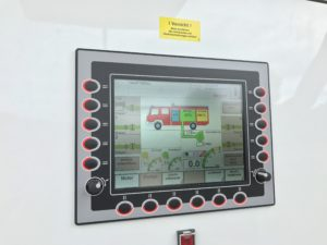 Digitale Pumpenbedienung beim neuen TLF